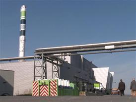 Europese parlementsleden op zoek   naar een koolstofarme toekomst in Roeselare (B-ROLL)