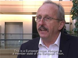 "Hungary: ""We must be able to sanction governments that breach the fundamental values of the EU"" (HU, EN subtitles)"