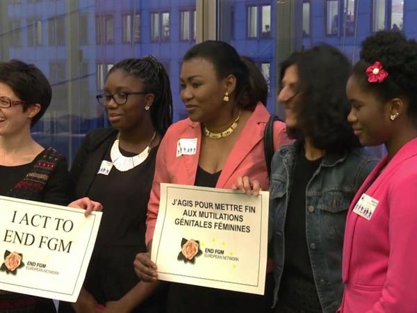 """My dream: being among the last women to endure female genital mutilation""  (bilingual EN/FR)"