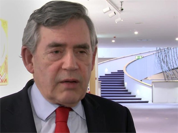 UK Referendum: Gordon Brown stands for an outward-looking Britain in the European Parliament