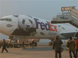 FedEx Panda Express Leaving Ceremony