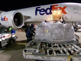 FedEx B-Roll Holiday 2014