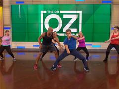 FILA Ambassador Shaun T Appears on The Dr. Oz Show