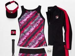 """FILA Launches Women's """"Sleek Streak"""" and Men's """"Zephyr"""" Tennis Collections"""