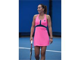 Jelena Jankovic Debuts the FILA Tennis Ready, Set, Glow! Collection