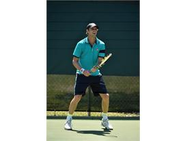 Sam Querrey showcases the FILA Heritage collection