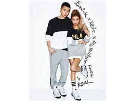 FILA X Allure Korea's Pictorial has been made public