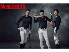 FILA INTIMO, The underwear pictorial featuring the 3 main Doosan Bears players