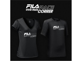 "FILA Race ""Live to Run"" t-shirts"