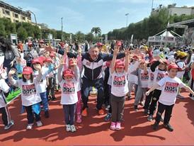 Cheering a successful kick off to the Un Campione per Amico initiative