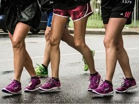 Runners sport the new Kenya Racer 3 running shoe