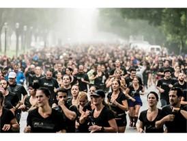 Runners of the FILA 10k Race
