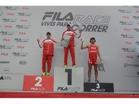 Winners of the FILA 10k men's category
