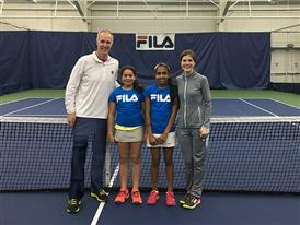FILA and International Tennis Hall of Fame Launch New Junior Tennis Program