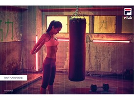 Your Playground: Female Boxing