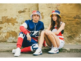Images from the Black Line Lookbook from FILA UK
