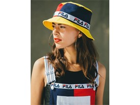 Images from FILA women's Black Line collection