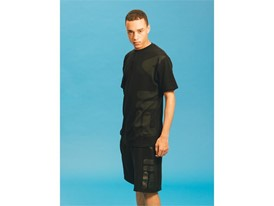 Images from FILA men's Black Line collection
