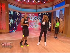 FILA Ambassador Shaun T Appears on The Wendy Williams Show
