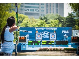 FILA at the 2016 World Archery Championships in Shanghai