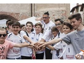 Andrea Lucchetta with festival participants