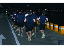 The FILA #FeelRun invites runners to train in groups