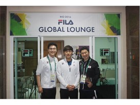 FILA Korea, running a 'FILA Global Lounge' with great acclamation in Rio Olympics!
