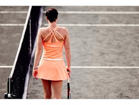 Jelena Jankovic sports the FILA women's Platinum collection