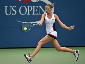 FILA Sponsored Athlete Karolina Pliskova at the 2016 US Open