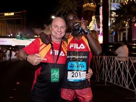 FILA Runner William Kibor Wins Las Vegas Half Marathon