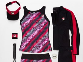 "FILA Launches Women's ""Sleek Streak"" and Men's ""Zephyr"" Tennis Collections"