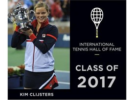 Kim Clijsters Elected for Induction into the Tennis Hall of Fame Class of 2017