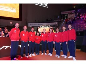 FILA Launched New Collection at Porsche Tennis Grand Prix