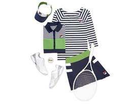 FILA's Karolina Pliskova Will Wear the Heritage Collection at Roland Garros