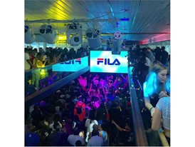 FILA Sponsors Power 105.1's Angie Martinez's Annual Summer BBQ Cruise