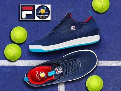 FILA and the BNP Paribas Open Serve Up a Limited-Edition Footwear Collaboration