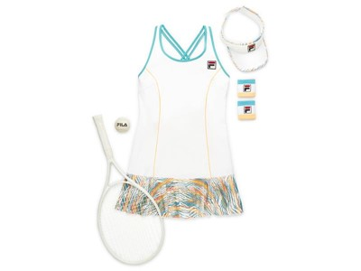 FILA's Sponsored Athletes to Debut Tropical Slice and Legend Collections at Roland Garros