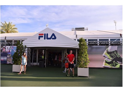 FILA Unveils Adrenaline and Net Set Tennis Collections with Andreas Seppi at the BNP Paribas Open