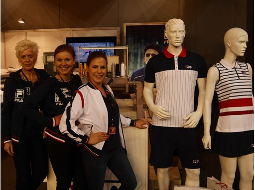 FILA Germany at the Porsche Tennis Grand Prix