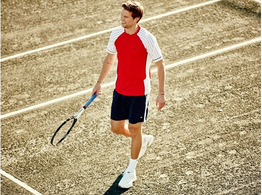 Andreas Seppi debuts FILA men's Heritage collection