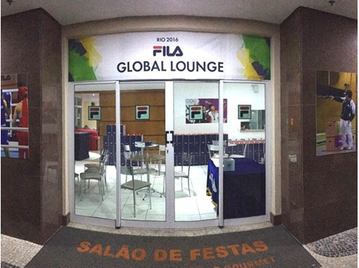FILA KOREA, running a 'FILA LOUNGE' with great acclamation in RIO Olympics!