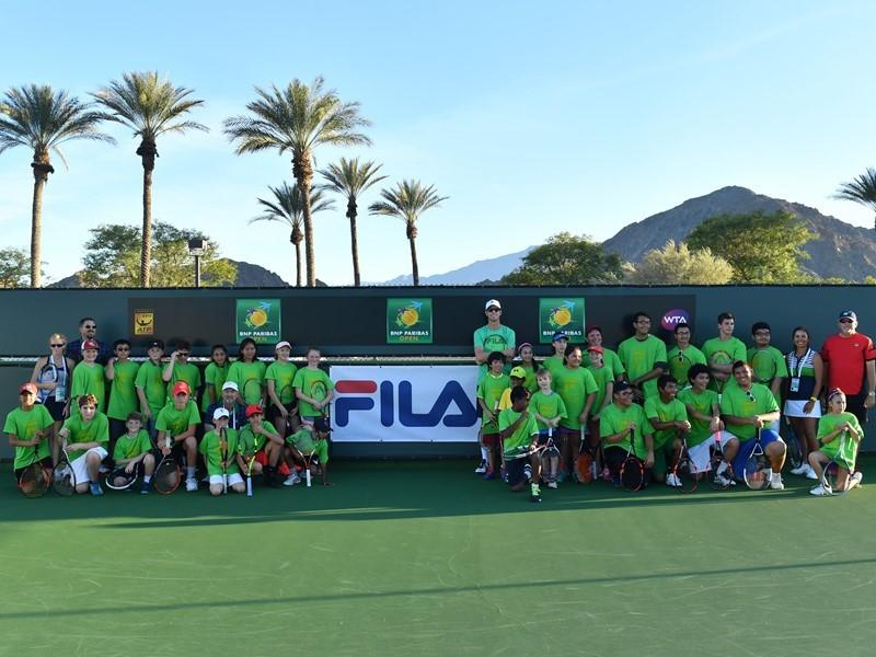 <b>FILA</b> Newsmarket : <b>FILA</b> Hosts Junior Tennis Clinic with Sam ...