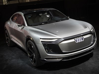 The Architecture of e-mobility: Audi e-tron Sportback Concept