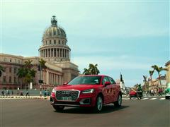 Audi Q2 testdrive in Havana, Cuba