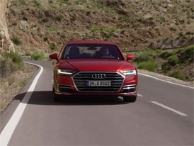 Audi A8 Red Footage
