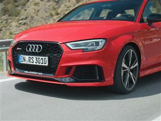 RS3 Sedan Footage