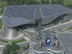 BMW Tower / Headquarters with the BMW Welt, BMW Museum