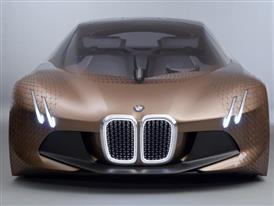 The BMW Vision Next 100 - Light Design