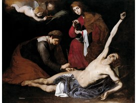 Saint Sebastian Tended by the Holy Women, c. 1621
