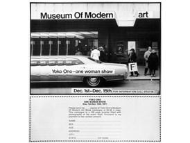 Yoko Ono Museum of Modern F-Art 1971